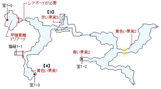 ダヴァール森林マップ画像(2)