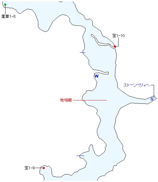 アルディナ草原マップ画像(2)
