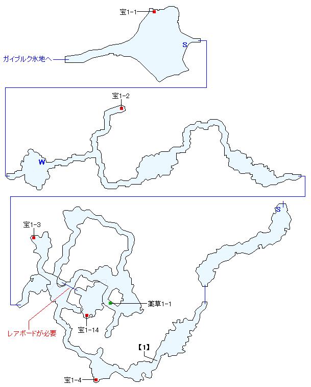 キララウス火山マップ画像(1)