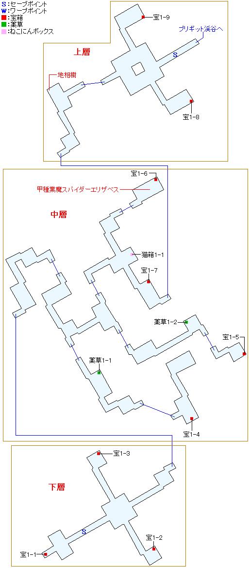 マップ画像・イボルク遺跡