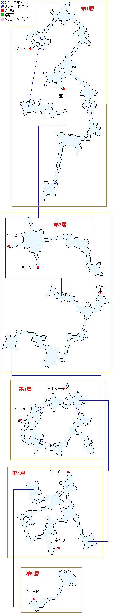 地脈マップ