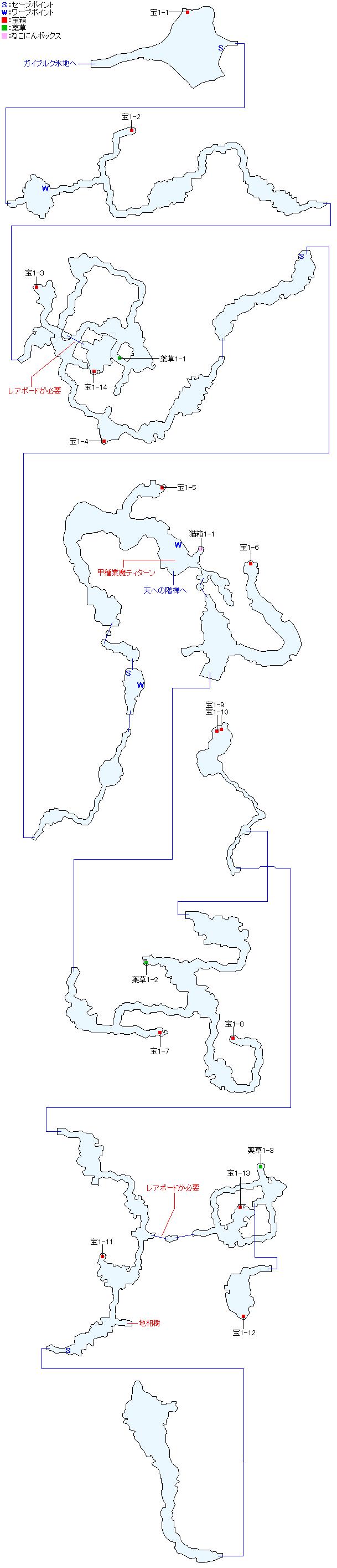マップ画像・キララウス火山