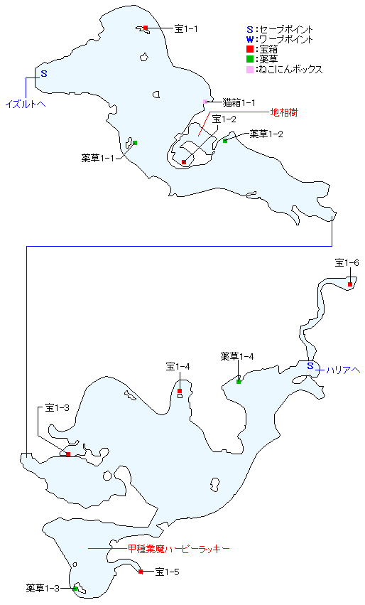 マップ画像・マクリル浜