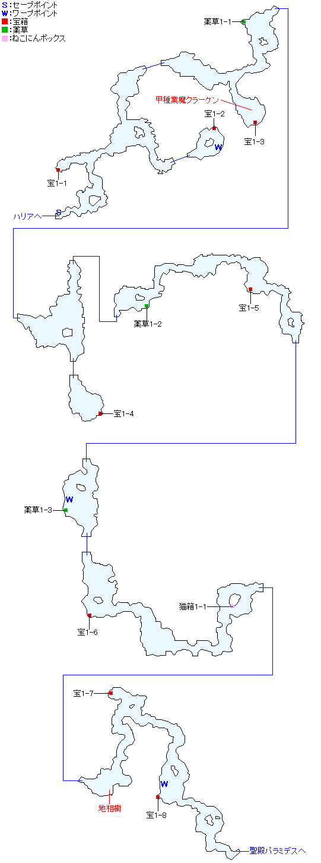 マーナン海礁マップ