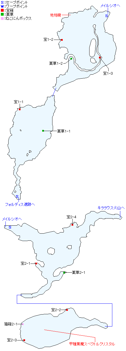 マップ画像・ガイブルク氷地