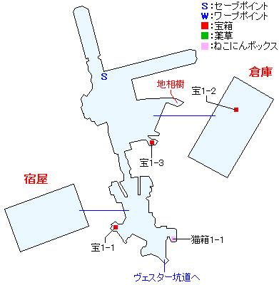 カドニクス港マップ