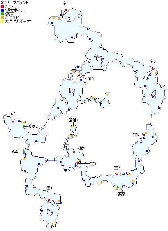 体験版・ベイルド沼野マップ画像