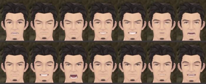 おじめん・表情変化パターン(中級)