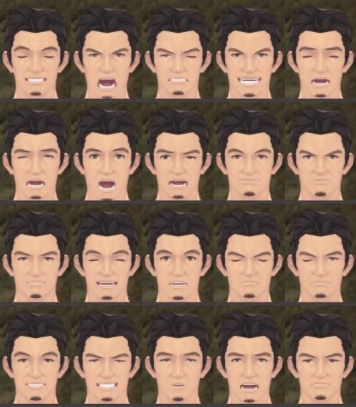 おじめん・表情変化パターン(上級)