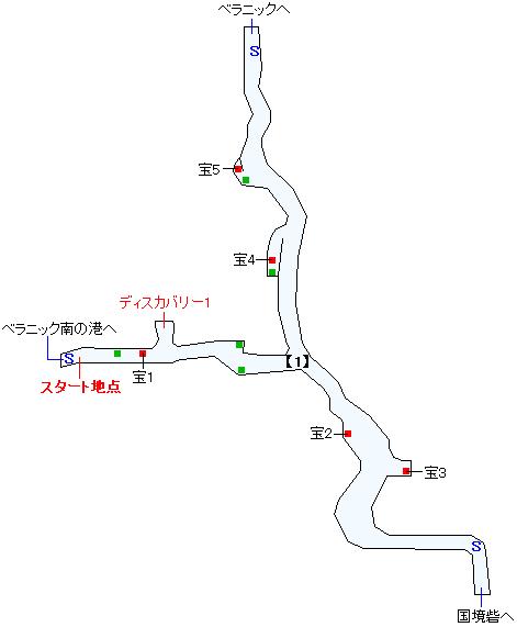 フェンデル国境地帯マップ画像