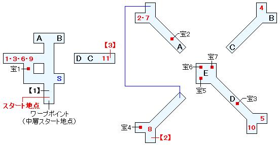 ガルディアシャフト(中層)マップ画像(1)