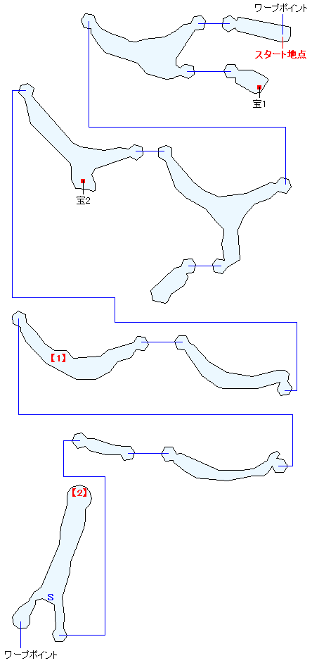ガルディアシャフト(下層)マップ画像