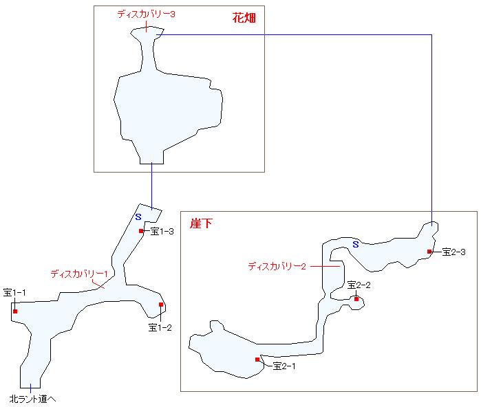 ラントの裏山(少年時代)マップ