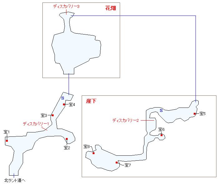 ラントの裏山(本編)マップ