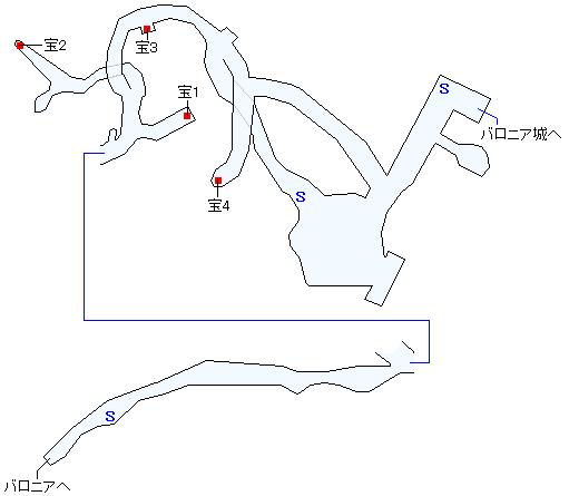 王都地下(少年時代)マップ