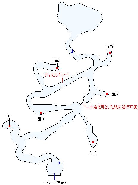 オーレンの森マップ