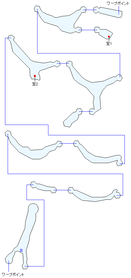 ガルディアシャフト(下層)マップ