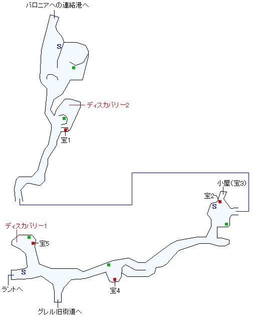 東ラント街道(本編)マップ