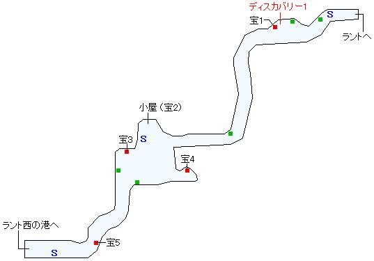 西ラント道(本編)マップ