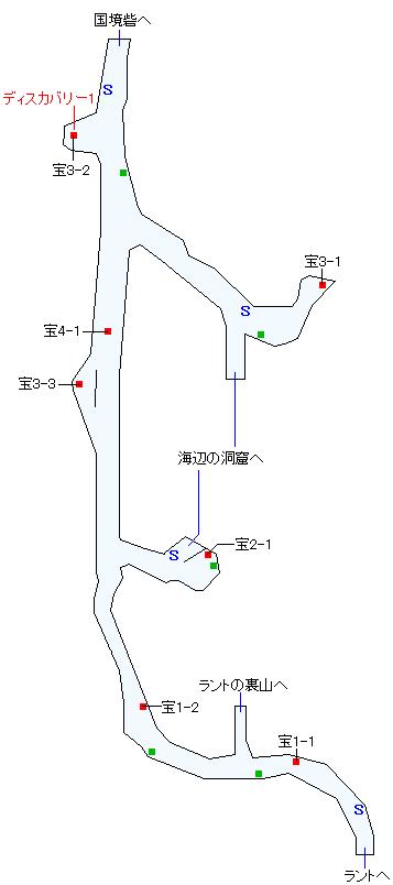 北ラント道(本編)マップ