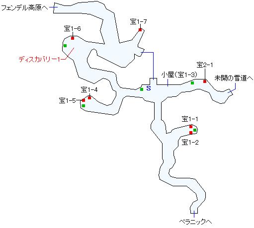 フェンデル山岳トンネルマップ