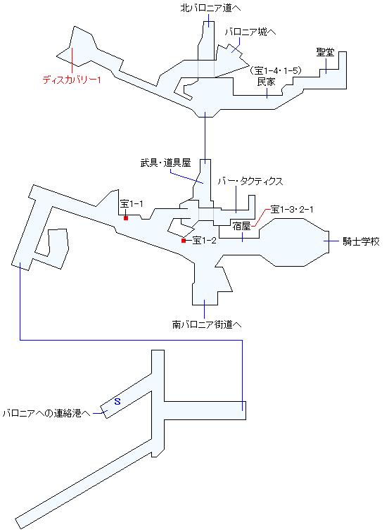 バロニアマップ