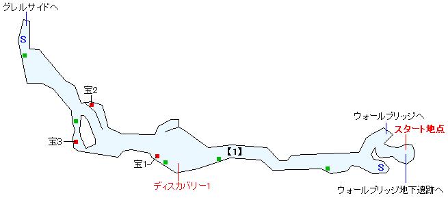 グレルサイド街道マップ画像