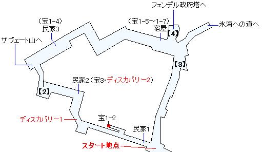 ザヴェートマップ画像(2)