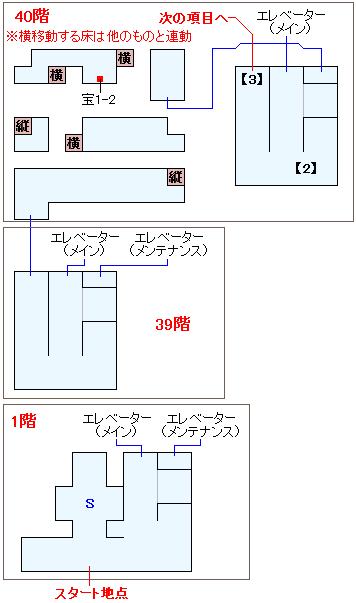 フェンデル政府塔マップ画像(2)