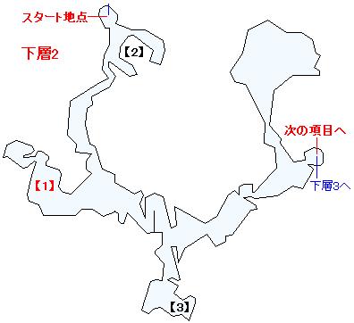 ラスタ・カナン(下層)マップ画像(2)