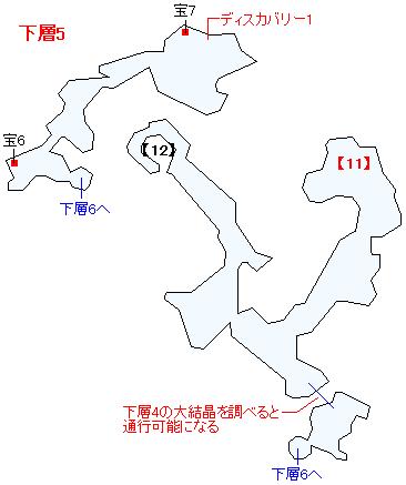 ラスタ・カナン(下層)マップ画像(6)