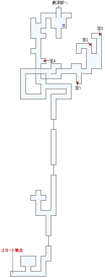 大深度空洞帯(デズエール)マップ画像