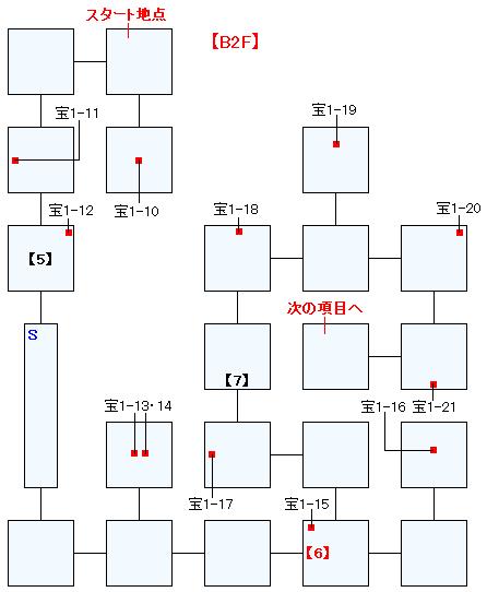 忘れられた神殿バクティオンマップ画像(3)