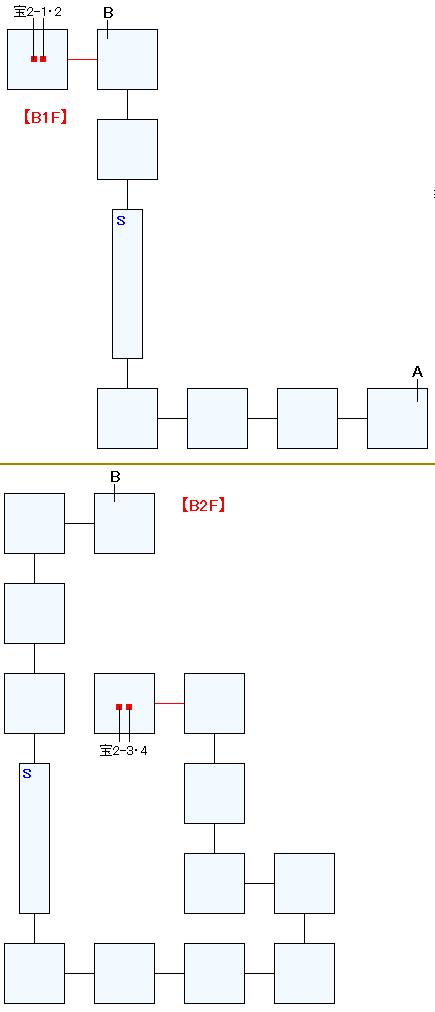 忘れられた神殿バクティオンマップ画像(1)