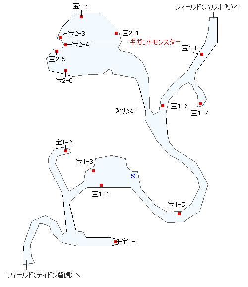 クオイの森マップ