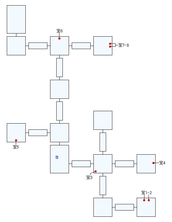 ラゴウの屋敷マップ