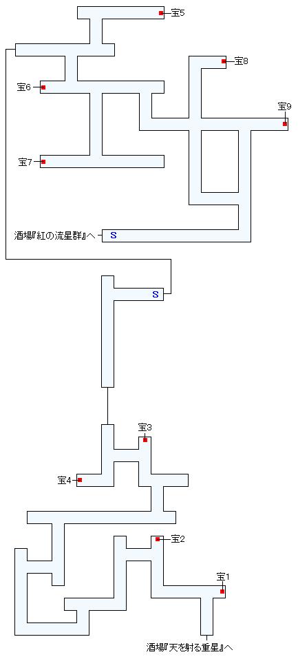 誓いの地下水道マップ