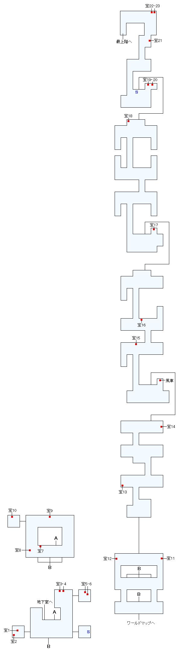 マップ画像・歯車の楼閣ガスファロスト