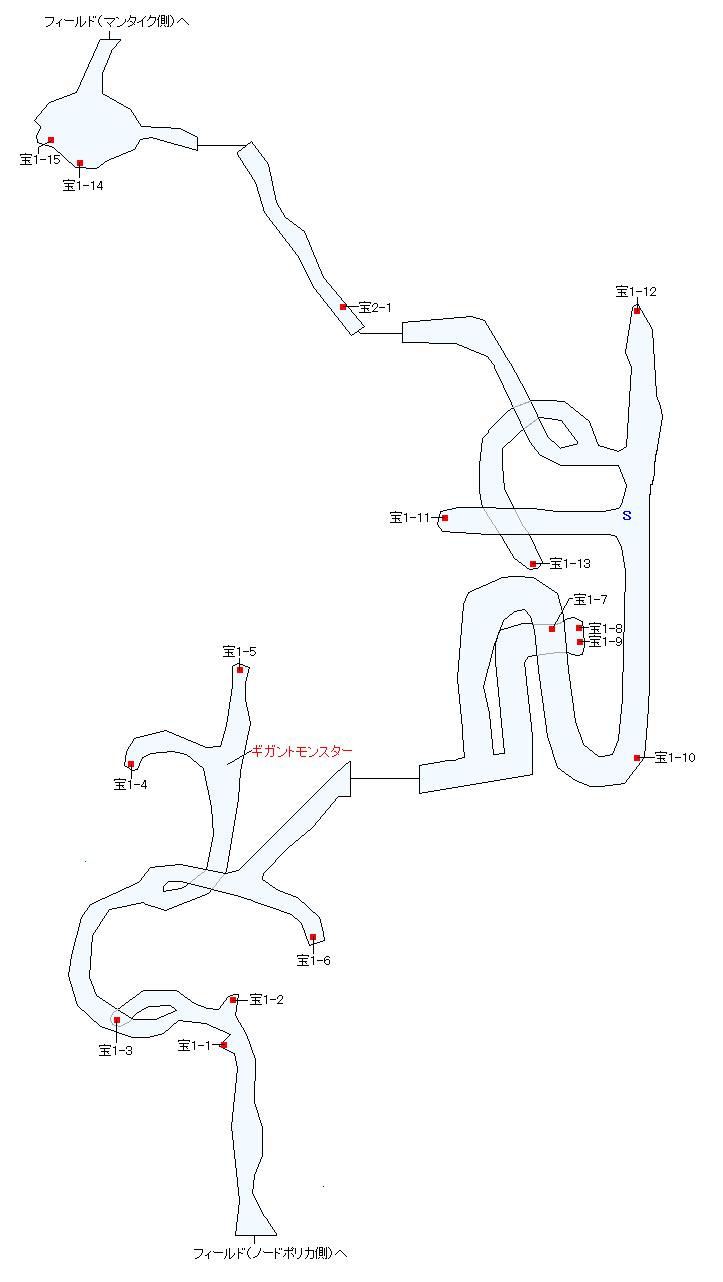 カドスの喉笛マップ