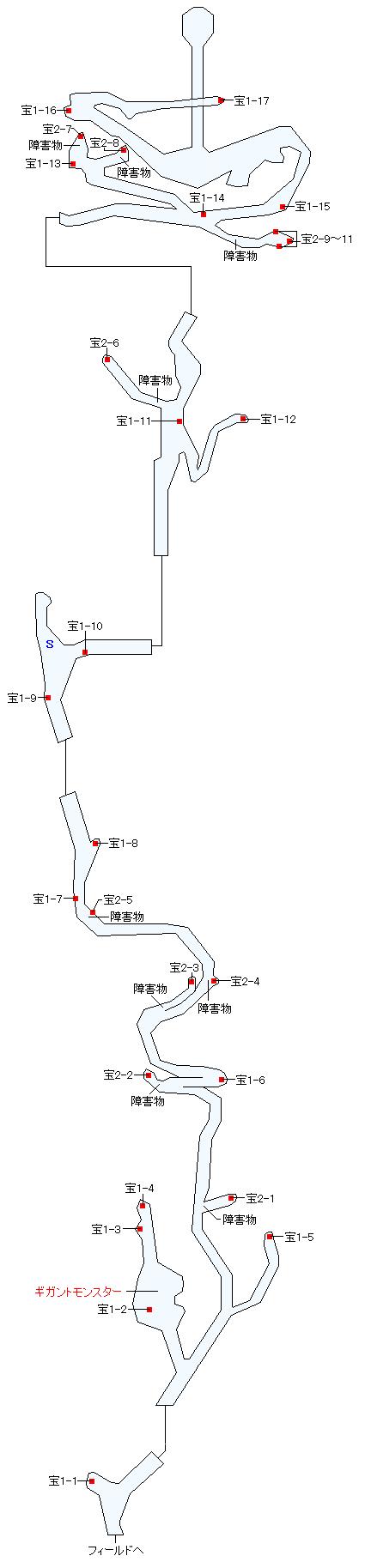 テムザ山マップ