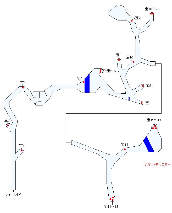 エレアルーミン石英林マップ