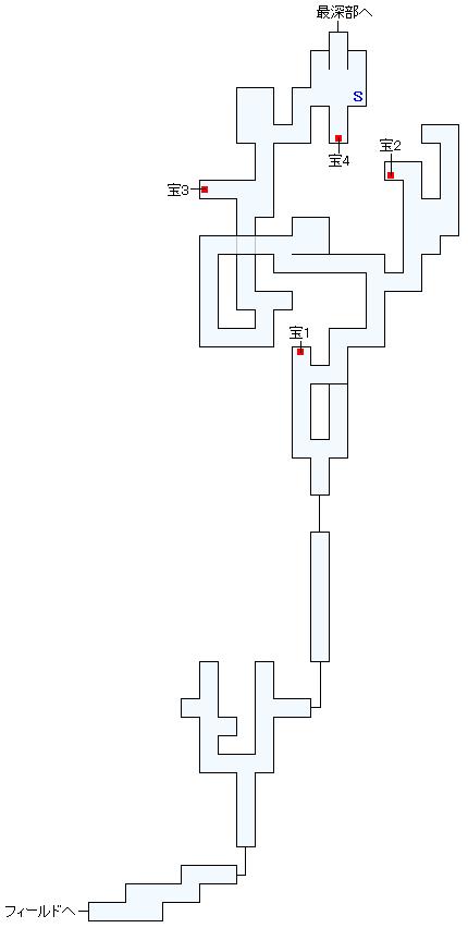 大深度空洞帯(トルビキア)マップ画像