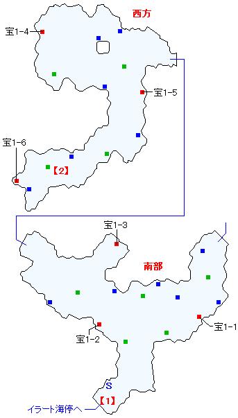 イラート間道マップ画像