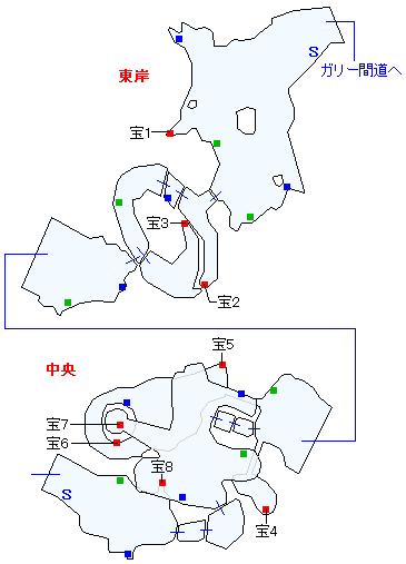 キジル海瀑マップ画像(1)