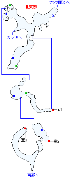 バーミア峡谷マップ画像(1)