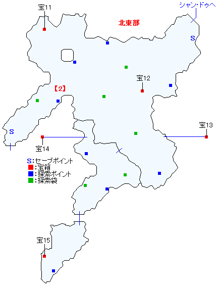 ラコルム街道マップ画像(3)