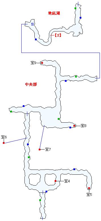 ククル凍窟マップ画像(2)