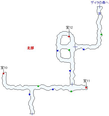 ククル凍窟マップ画像(3)