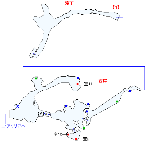 キジル海瀑マップ画像(2)