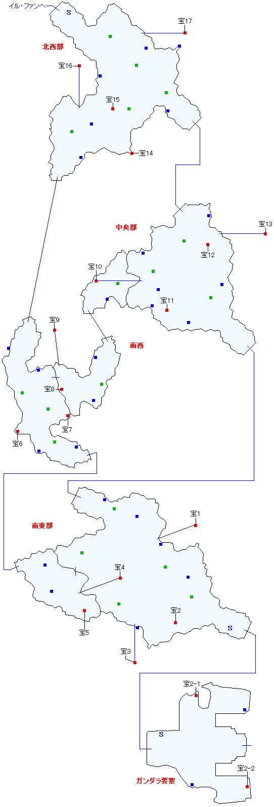 バルナウル街道マップ画像